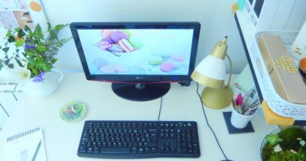 organiser et ranger son bureau organisation pinterest bureaux fils et ranger. Black Bedroom Furniture Sets. Home Design Ideas