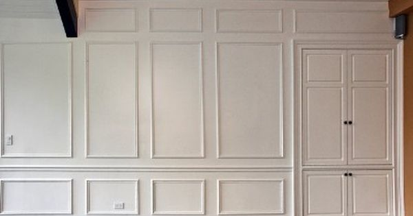 White paneling - Rooms With Wood Molding Traditional Full Room Raised Paneling