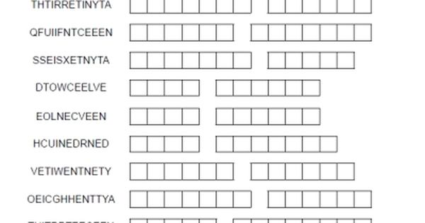 spanish numbers word merge puzzle worksheet free from printable spanish. Black Bedroom Furniture Sets. Home Design Ideas