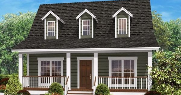 Wrap Around Porch On Cape Cod Cape Cod House Plans With