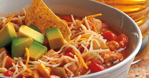 Jenna's Chicken Tortilla Soup- crockpot recipe