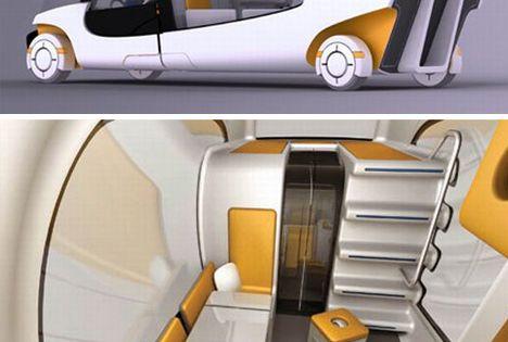 Modular Motorhome: Hybrid Camper Car + Caravan Combo - by Christian Susana