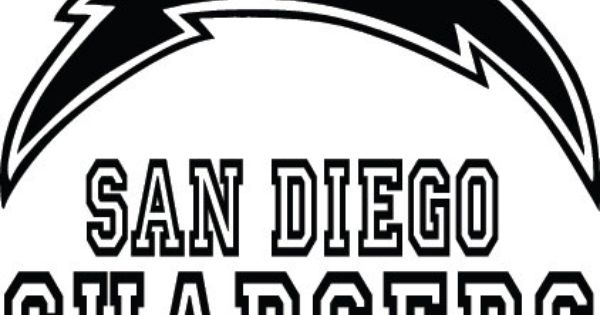 San Diego Chargers Football Logo & Name Custom by ...