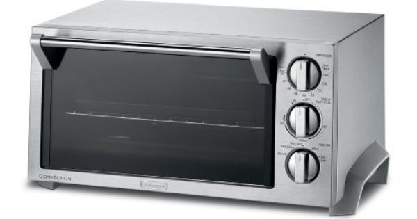 Delonghi Eo1270 6 Slice Convection Toaster Oven Stainless Steel By Delonghi Http Www Amazon Com Dp B Convection Toaster Oven Toaster Oven Toaster