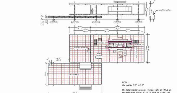 farnsworth house mies van der rohe 1951 floor plan section floorplans pinterest the. Black Bedroom Furniture Sets. Home Design Ideas
