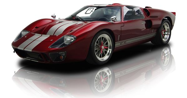 1966 ford superformance gt40 mk ii red ford cars pinterest red and ford