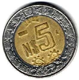 Moneda De 5 Pesos Mexico Monedas De Plata Valor De Monedas Antiguas Monedas