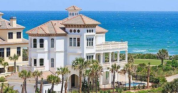 Palm Coast 7 Br Ocean View Vacation Rental Home Hammock