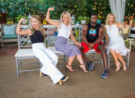 Donovan Green 39 S Chair Workouts Home Amp Family Chair Exercises Green Chair How To Slim Down