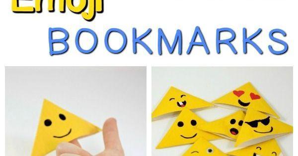 Duct Tape Emoji Bookmarks | Duct tape bookmarks, Emojis ...