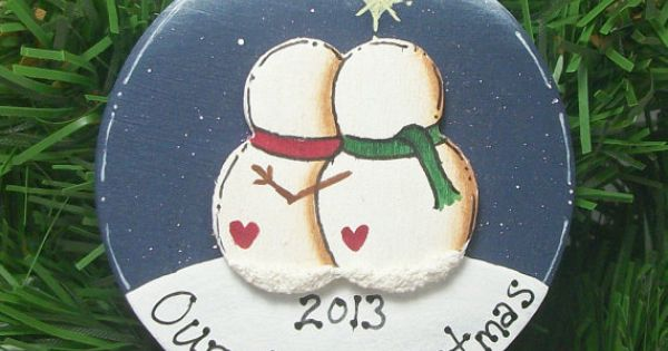 Couples First Christmas Ornaments
