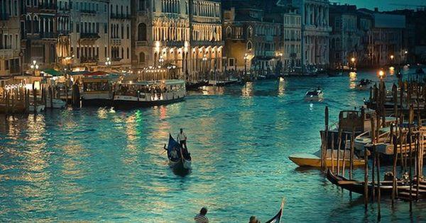 Grand Canal, Venice, Italy - On the romantic dream list! venice italy