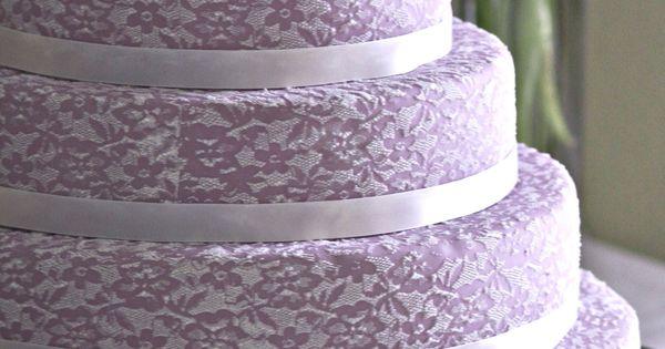 Make your own wedding cake tutorial. Beautiful!