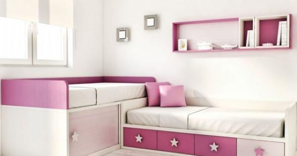 Camas en l dormitorios juveniles habitaciones - Mueble habitacion infantil ...