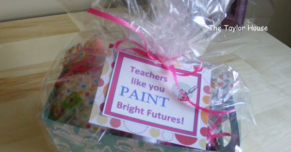 The Taylor House: teacher gifts