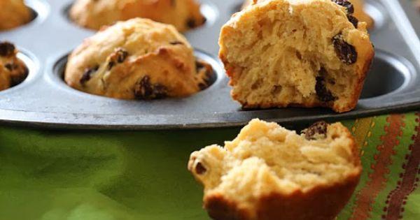 Whole Wheat Irish Soda Bread Muffins | Soda Bread, Irish and Muffins