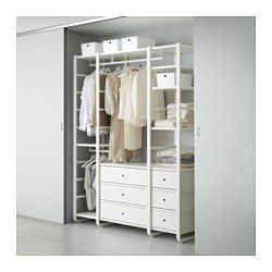 Sistemi Per Cabina Armadio Ikea.Elvarli Sistema Per Cabine Armadio Ikea Arredamento Camera Da