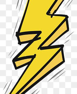Thunder And Lightning Effect Vector Png Yellow Lightning Hand Painted Lightning Png Transparent Clipart Image And Psd File For Free Download Thunder Design Lightning Logo Lightning