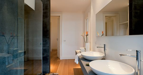klassische architektur und modernes hotel design auf sizilien, Esszimmer