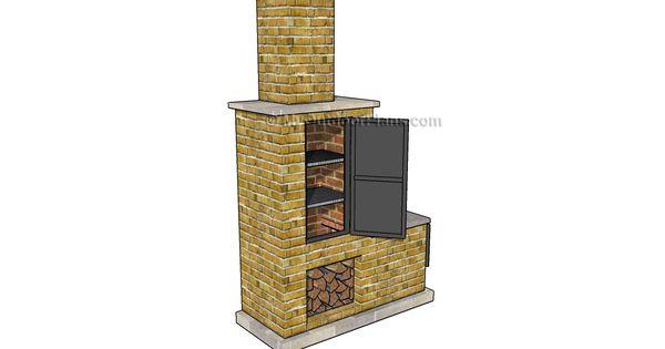 brick smoker plans. Black Bedroom Furniture Sets. Home Design Ideas