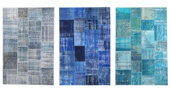 SILKEBORG vloerkleden : #IKEA #uniek #vintage #kleed #tapijt #vloerkleed #patchwork #blauw ...