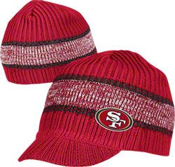 San Francisco 49ers Visor Knit Hat 49ers Outfit Custom Purses Knitted Hats