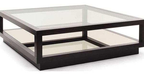 Infinity Contemporary Coffee Table Oak Glass Bronze By Decorus Coffee Table Square Bauhaus Coffee Table Coffee Table