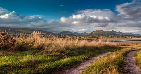 Mountains Of Mourne From Greencastle Co Down Natural Landmarks Mountains Famous Landmarks