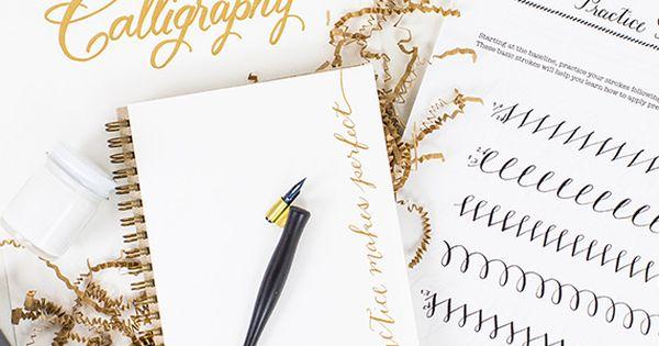 Calligraphy For Beginners Starter Kit Starter Kit And