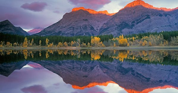 Wedge Pond, Kananaskis Country, Alberta, Canada Natural Moments Photography LTD