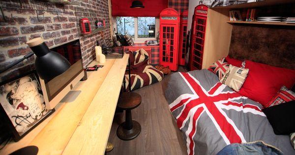 Les 3 astuces de thomas pour une chambre d ado de style for Chambre ado style british