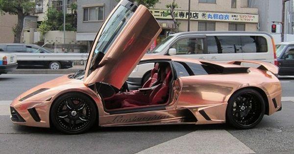 Rose Gold Lamborghini Google Search Rose Gold Car Gold