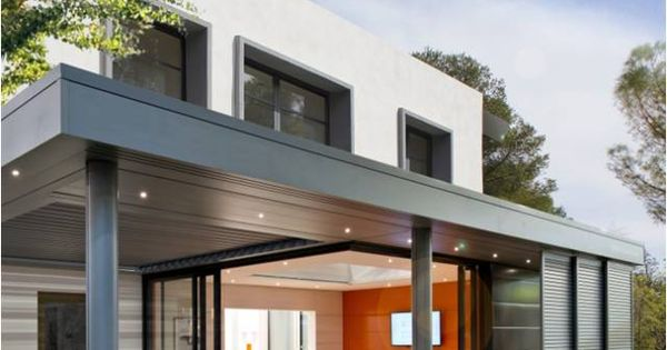 Plus qu 39 une v randa extens 39 k est un concept unique d - Maison avec veranda integree ...