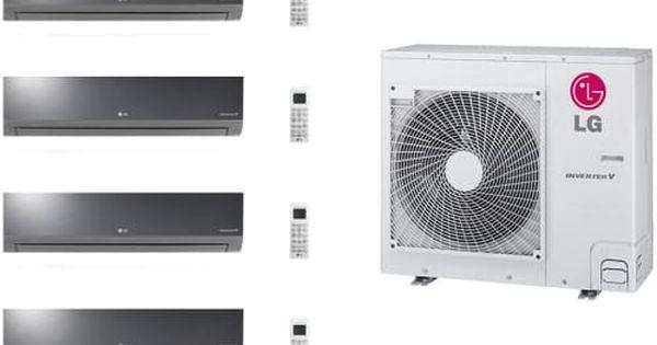 Lg Lgacms36kb117 4 Room Mini Split System With Heat Pump Low Ambient Operation R 410a Refrigerant Auto Restart And Aut Heat Pump Split System Hartford House