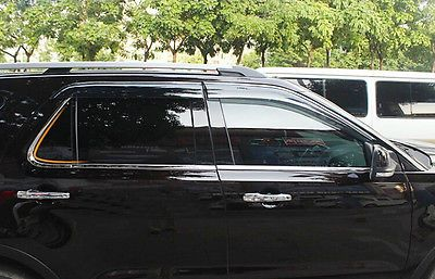 Stainless Steel Bottom Window Frame Sill Trim 6pcs For Ford Explorer 2011 2012 2013 2014 Affiliate Ford Explorer Ford Car