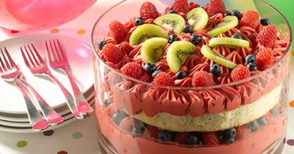 Fruit Punch Bowl Cake-•1 box Duncan Hines® French Vanilla ...