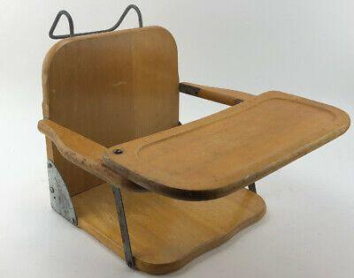 Ebay Ad Antique Child S Baby Seat Wood Folding Vintage Booster Spen Brooklyn Ny In 2020 Vintage Velvet Mid Century Vintage