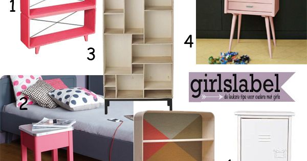 ... , voorbeelden kinderkamers  GIRLS Room - Meisjeskamer  Pinterest