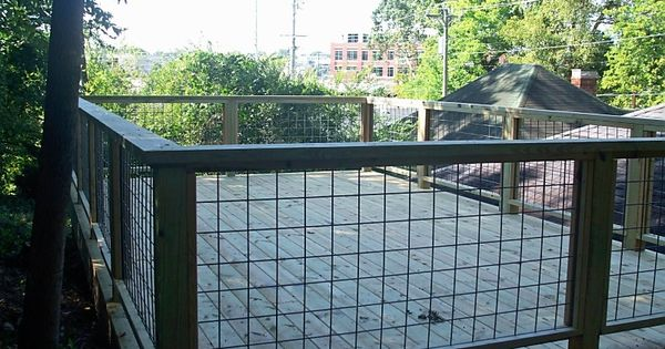 Livestock Panel As Railing Decks Pinterest Livestock
