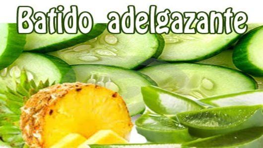 Pina y manzana verde para adelgazar