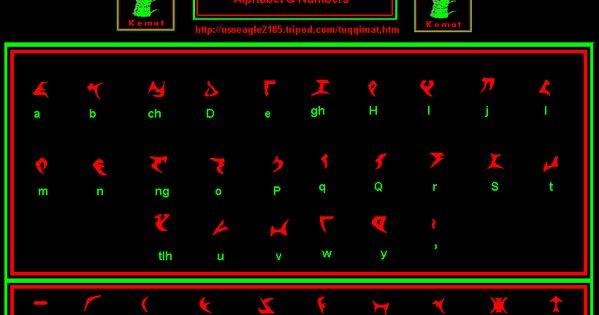 klingon klingon language klingon alphabet and klingon