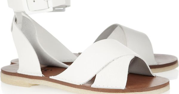 Capri Leather Sandals by Acne Sandals Acne