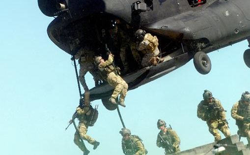 rangers from the 75th ranger regiment fast