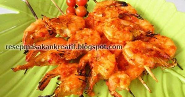 Resep Udang Bakar Bumbu Pedas Resep Masakan Indonesia Resep Udang Masakan Indonesia