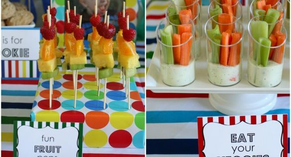 Sesame Street birthday party birthday kids party food