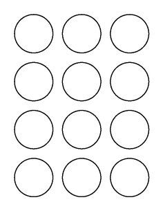 2 Inch Circle Pattern Use The Printable Outline For Crafts