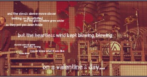 linkin park valentine's day