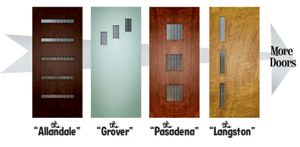 Crestview Door Lite Kits Mid Century