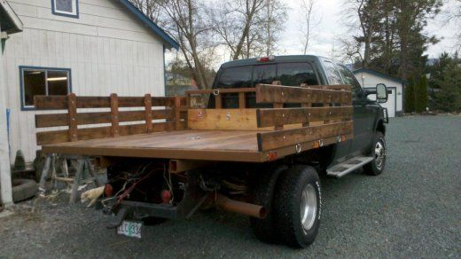 Diy Flatbed Ford Truck Enthusiasts Forums Wooden Truck Bedding Wood Truck Bedding Truck Flatbeds