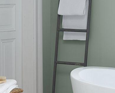 Sanfter Morgentau Wandfarbe Feine Farben Badezimmer Inspiration